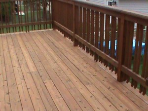 Deck Staining in Chicago   Aardvark Painting Inc.     Deck Staining Company Chicago
