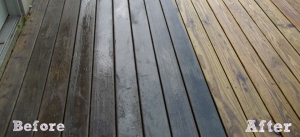 Power Washing Before and After   Aardvark Painting