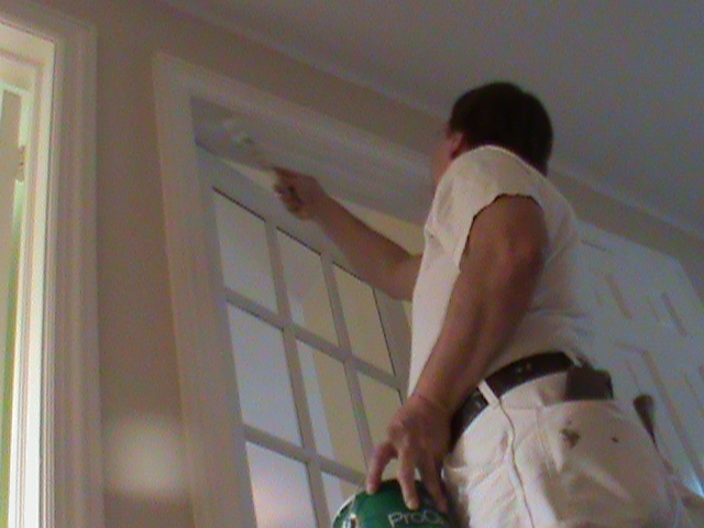 Interior Trim Painting  in Glencoe IL 300 Vernon Ave.    Aardvark Painting Inc.